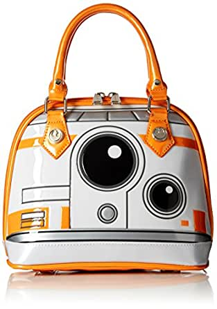 Loungefly Star Wars BB8 Dome Bag Top Handle Bag, Multi, One Size