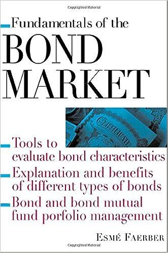 Fundamentals of The Bond Market (Fundamental of investing)