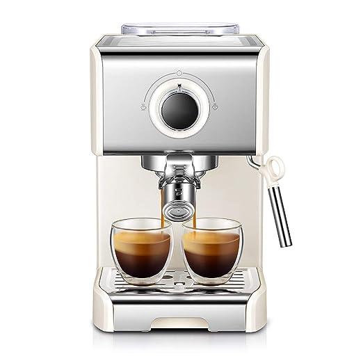 DGYAXIN Máquina de Espresso, Cafetera Espresso Steam & Pump ...