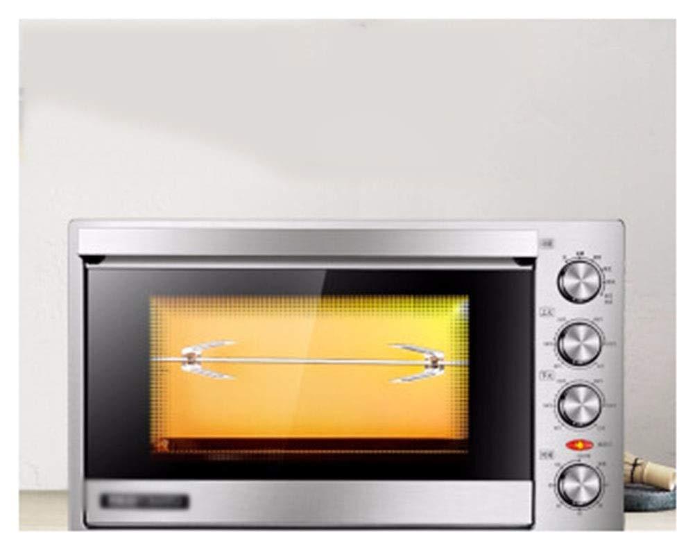 THOR-YAN オーブンの家すべての鋼鉄電子温度調整の電気オーブンのステンレス鋼 -46 オーブン   B07NWYR73M