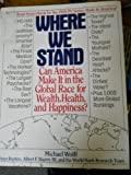 Where We Stand, World Bank, Research Team and Michael Wolf, 0553081195