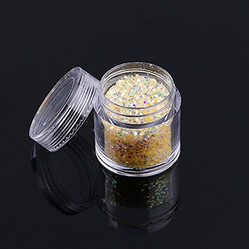 - 10g/Box Gold Sliver Nail Glitter Powder Shinning Nail Mirror Powder YE
