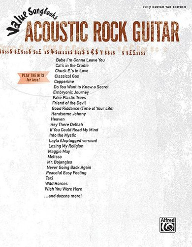 Value Songbooks:Acoustic Rock Guitar (Rock Songbook Acoustic)
