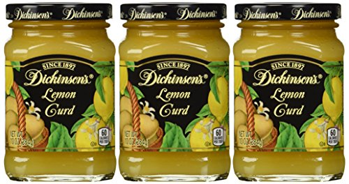 Dickinsons, Lemon Curd, 10oz, 3 pack (Best Key Lime Cake Recipe)