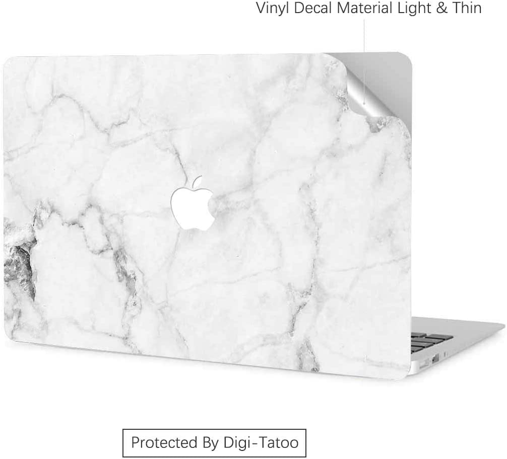 Digi-Tatoo MacBook Skin Decal Sticker Wrap Compatible With 2020 Released Macbook Pro 13 inch Touch Bar Model A2289//A2251//A1708 Residue Free Vinyl Skin Anti-Scratch Easy Apply Cracked Marble