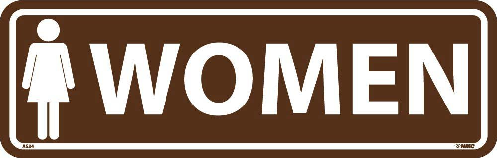 AS34 National Marker Women Architectural Sign