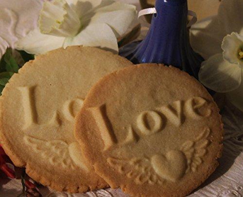 Brown Bag - LOVE - Say It With Cookies Series Cookie Stamp - NEW