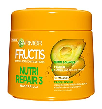 Garnier Fructis Mascarilla Nutri Repair - 300 ml