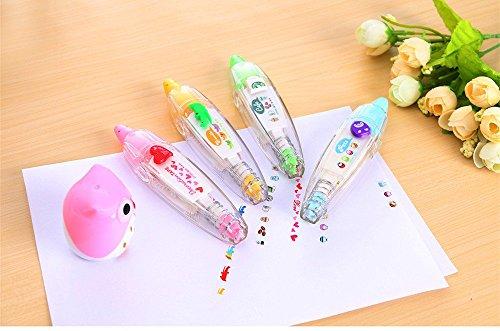 Katoot-4pcs-korean-cute-correction-tape-kawaii-stationery-masking-tape-school-supplies-DIY-Scrapbooking-Stickers