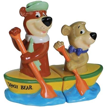 Salt & Pepper Shakers Set - Yogi Bear - Boo-Boo Canoe New Gifts 22603: Amazon.co.uk: Toys & Games