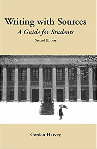 g paper writers Writing with Sources A Guide for Students Hackett Student Handbooks nd Edition Amazon
