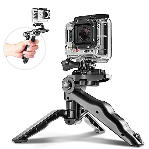 Guojia Portable iPhone Camera Tripod Stand Holder, Adjustable Mini Tripods Smartphones Mount for iPhone X 8 7 7Plus 6s Plus 6 SE 5 5C Samsung Galaxy S6 S7 S8
