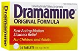 Dramamine 50mg Tablets-36 ct