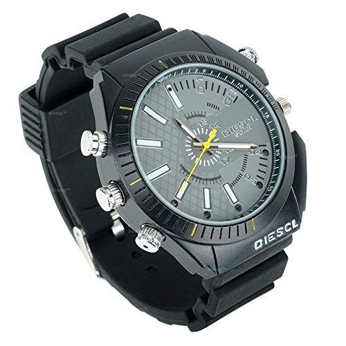 16Gb Hd 1080P Night Vision Waterproof Watch Camera - 9