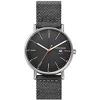 [Patrocinado] Skagen Signatur Solar gris reloj de nailon reciclado, talla única , gris