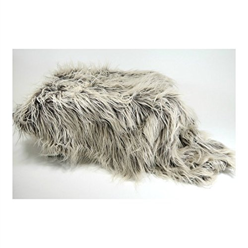 Sheepskin Flokati Faux Fur Newborn Photo Props, Fur Basket Stuffer for Sitters and Babies, Mousse