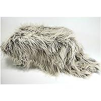 Sheepskin Flokati Faux Fur Newborn Photo Props, Fur Basket Stuffer for Sitters and Babies, Mousse