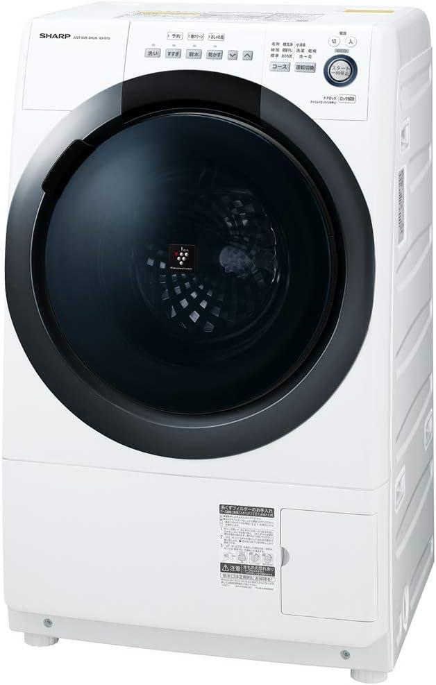 シャープ ドラム式 洗濯乾燥機 ES-S7D-WR