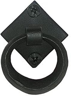 product image for Acorn Manufacturing IPABP 2 Inch Drop Pull, Black Iron Finish