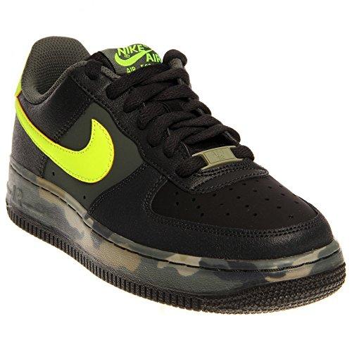 Nike , Herren Schnürhalbschuhe black pine volt dark mica green medium khaki 008