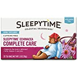 Celestial Seasonings Sleepytime Echinacea Complete Care Wellness Tea Herbal Supplement, 20 Count