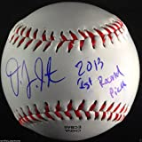 DJ PETERSON SIGNED BASEBALL 2013 1ST RD PICK INSCR SEATTLE MARINERS USA PROOF J4