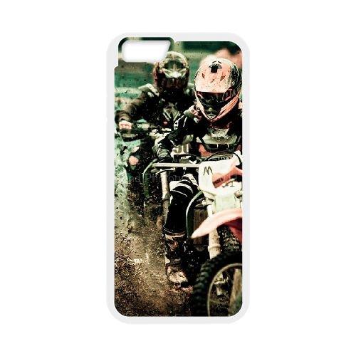 Motocross 003 coque iPhone 6 Plus 5.5 Inch Housse Blanc téléphone portable couverture de cas coque EOKXLKNBC24029