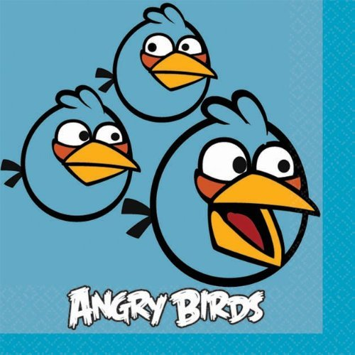 (Angry Birds Beverage Napkins 16)