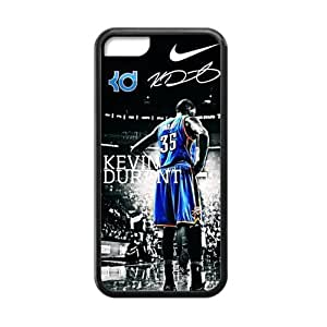 LJF phone case CTSLR Laser Technology Kevin Durant TPU Case Cover Skin for Cheap Apple iphone 4/4s-1 Pack- Black - 4