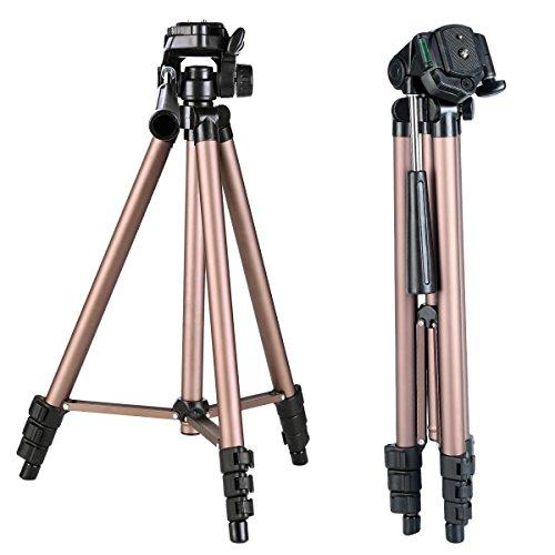 kf-concept-portable-travel-camera-tripod-49-inch-4-section-load-capacity-2kg-aluminum-alloy-lightwei