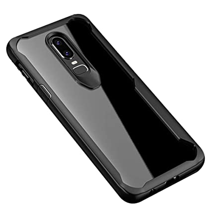 Amazon.com: OnePlus 6 funda, hontech Ultra Slim Crystal ...
