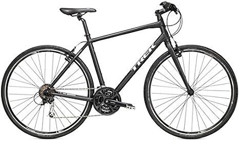 Trek 7.3 FX, bicicleta de carretera,{2015}, negras, RH 55.88 cm ...