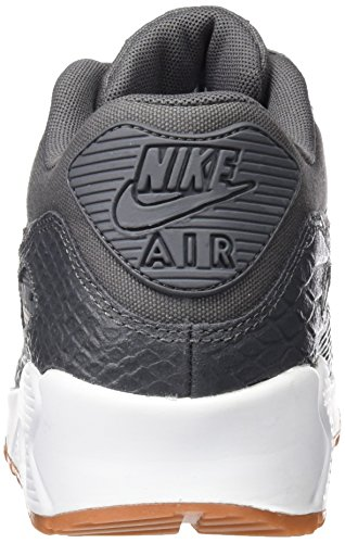 Nike Wmns Grey Dark Scarpe White Donna da Ginnastica Grigio Max Dark Yellow 90 Prm Grey Gum H4arH