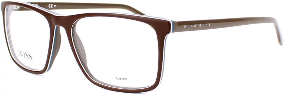 Optical frame Hugo Boss Acetate Brown BOSS 0764 QHK Grey