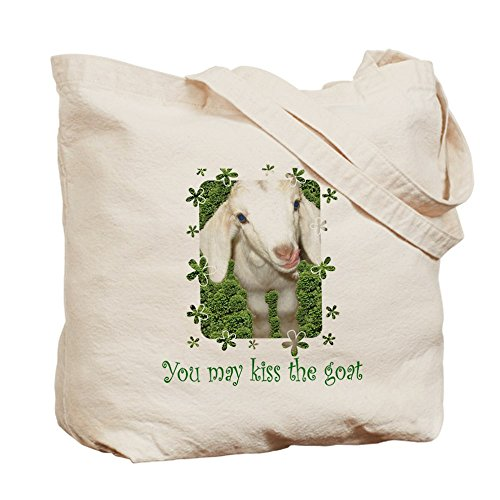CafePress – Kiss la cabra – Tote Bag