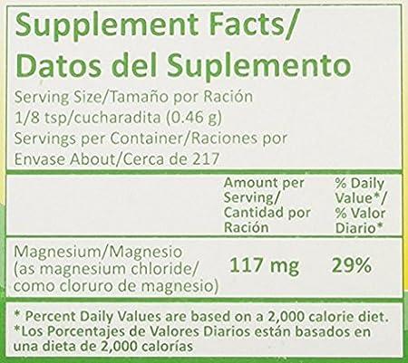 Amazon.com: Magnesium Chloride-Cloruro De Magnesio: Health & Personal Care