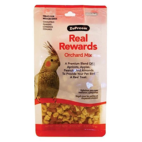 Real Rewards Orchard Mix Medium Bird Treats by ZuPreem