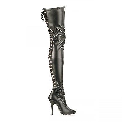 c29e4e83ec3406 Pleaser Seduce-3063 - sexy high heels overknee boots sizes 3-11