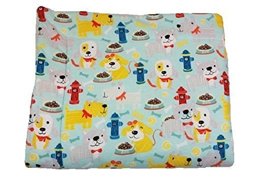 "Fire Hydrant dog blanket with Sherpa back 30"" x 35"""
