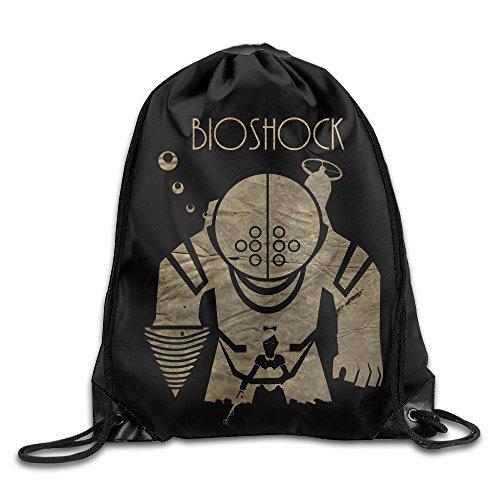 [JIMBERT Bio Shock First-person Shooter Video GameMountain Backpack For Teens College Drawstring Bag] (Traveling Circus Costume)