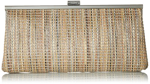 Calvin Klein Novelty Woven Straw Clutch