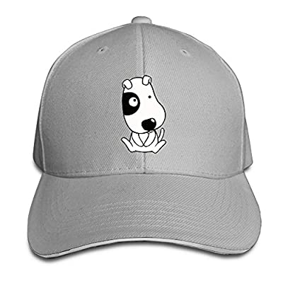 Cute Dog Custom Sandwich Peaked Cap Unisex Baseball Hat