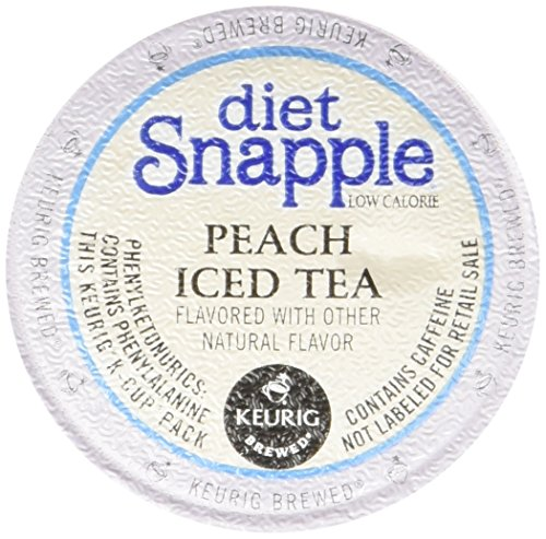 UPC 099555086744, Snapple Diet Peach Iced Tea, 1.7 Ounce (Pack of 6)