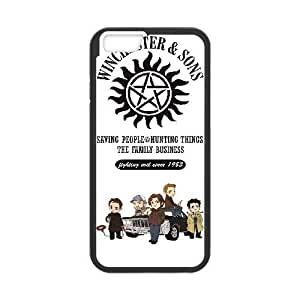 iphone6 plus 5.5 inch case (TPU), supernatural Cell phone case Black for iphone6 plus 5.5 inch - FGHJ8968716
