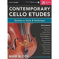 Contemporary Cello Etudes: Studies in Style & Technique Bk/Online Audio