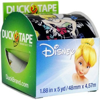 Disney Tinkerbell Duck Tape (1.88 inches x 5 yards) ()