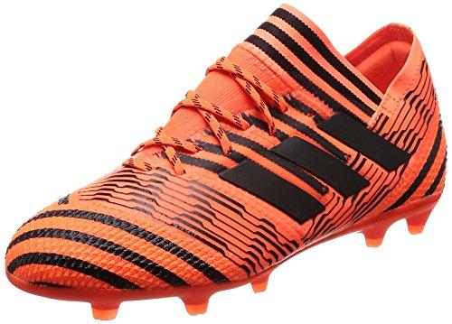 adidas Jungen NEMEZIZ 17.1 Fg J Fußballschuhe Mehrfarbig (Solar Orange/Core Black/Solar Red)