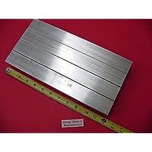 "2 Pieces 1//2/"" X 1-1//2/"" ALUMINUM 6061 T6511 FLAT BAR 63/"" long .50/"" Mill Stock"