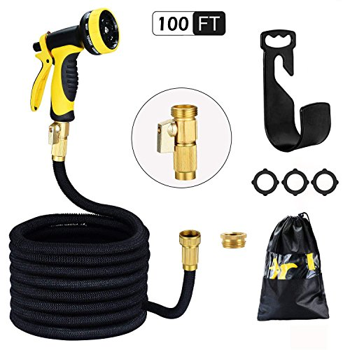 Garden Hose 100ft 30m HmiL-U Strongest Double Latex Inner Tube Prevent...