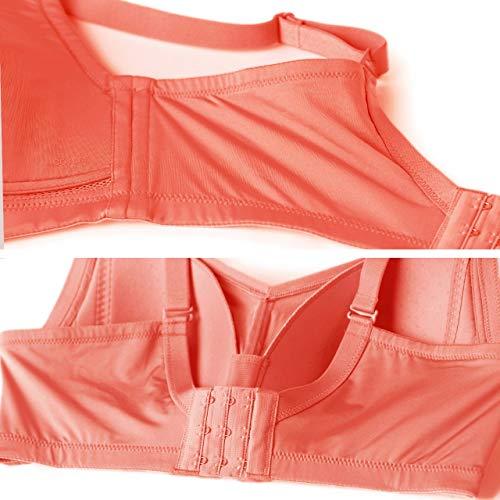 Ropa Acero Interior Inalámbrico Sujetador De Naranja Costuras Yukun Sin Mujer Copa Ultrafina Deporte Anillo 5qF6xW